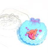 Слюнявчик форма пластиковая