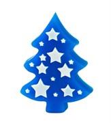 Ель со звёздами форма пластиковая