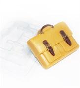 Портфель с 2-мя карманами форма пластиковая