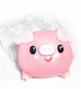 Свинка - пухляшка форма пластиковая