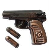 Пистолет Макаров форма пластиковая