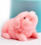 Свинка3 3D силиконовая форма