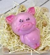 Свинка стоит форма пластиковая