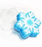 Снежинка3 форма пластиковая