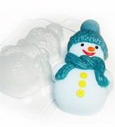 Снеговик вязаный форма пластиковая