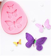 Бабочки mini силиконовая форма (молд)