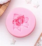 Роза с лепестками MINI силиконовая форма (молд)