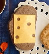 Бутерброд с сыром форма пластиковая