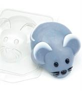 Мышь вид сверху форма пластиковая