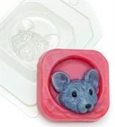 Мышь в норке форма пластиковая