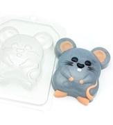 Мышь-полёвка форма пластиковая