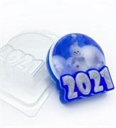 2021/ Круг под водорастворимку форма пластиковая
