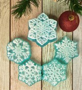 Снежинки Ассорти Набор №2 форма пластиковая