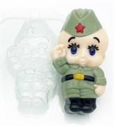 Малыш/ Солдат форма пластиковая