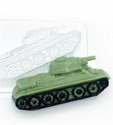 Танк Т-34/ бок форма пластиковая