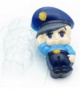Малыш/ Полицейский форма пластиковая
