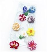 Цветочное ассорти №2 форма пластиковая