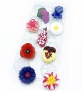 Цветочное ассорти №1 форма пластиковая